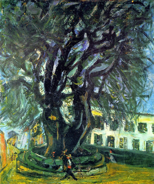 Chaim Soutine - Tree of Vence