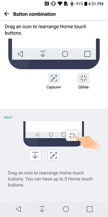 LG G6 buttons
