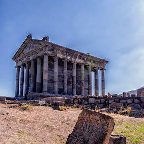 Temple Of Garni by Amir Kh - Buildings & Architecture Public & Historical ( history, temple, old, armenia, kotayk, paganism, architectural, pagan, garni, architectural detail, historical, architecture, historic,  )