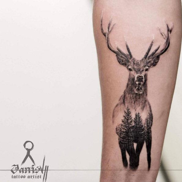 esta_dupla_exposiço_veado_tatuagem