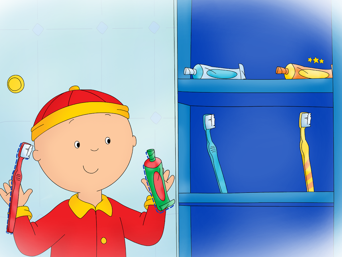 Goodnight Caillou- screenshot