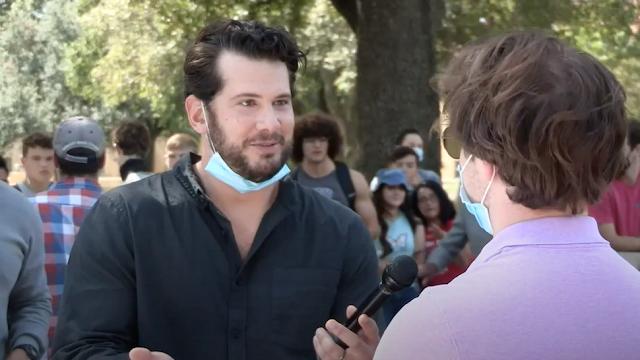 WATCH: 'Change My Mind': Crowder Debates Amy Coney Barrett's Confirmation On College Campus