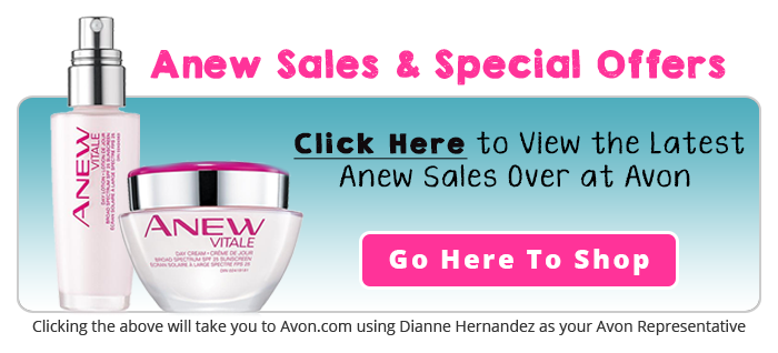 Avon Anew Sales & Special Offers