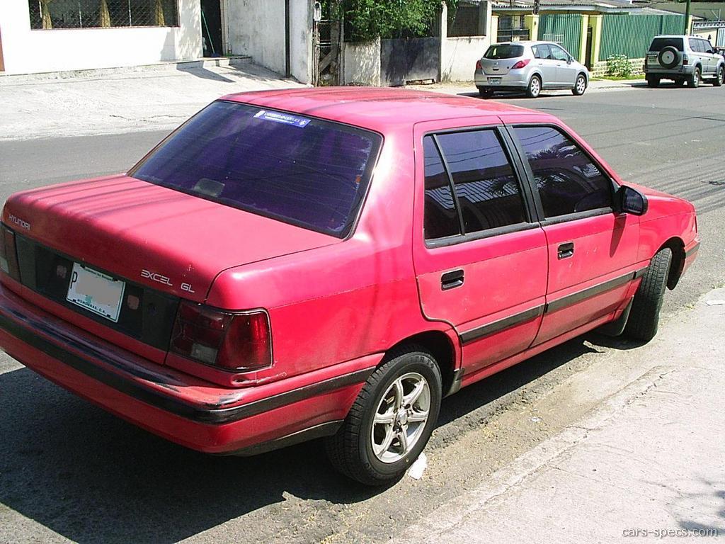 1993 hyundai excel gs 2dr hatchback 1 5l 4 cyl 5 speed manual