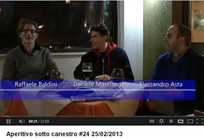 24a puntata Aperitivo sotto Canestro