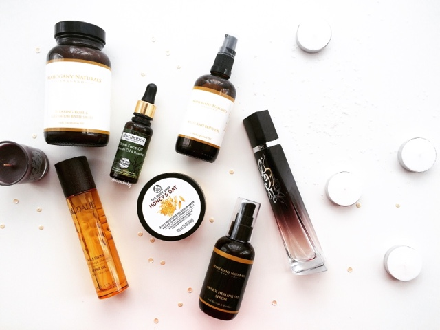 mahogany naturals review, caudalie divine oil review, antipodes divine oil review
