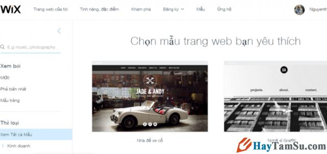 Hướng dẫn bạn đọc cách tạo Website miễn phí với Wix.com + Hình 7