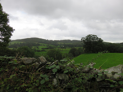 wall and hills