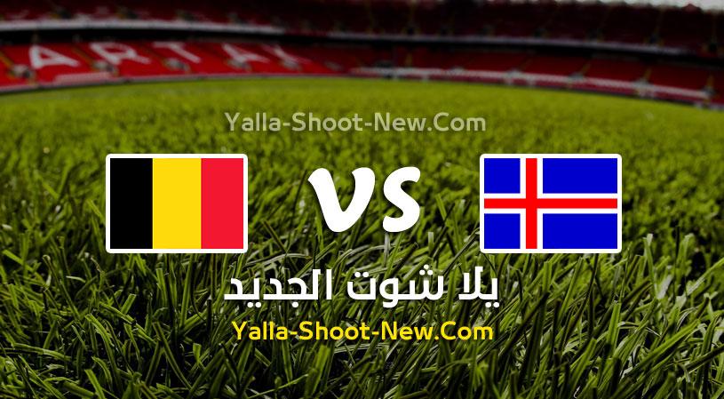 مباراة بلجيكا وأيسلندا