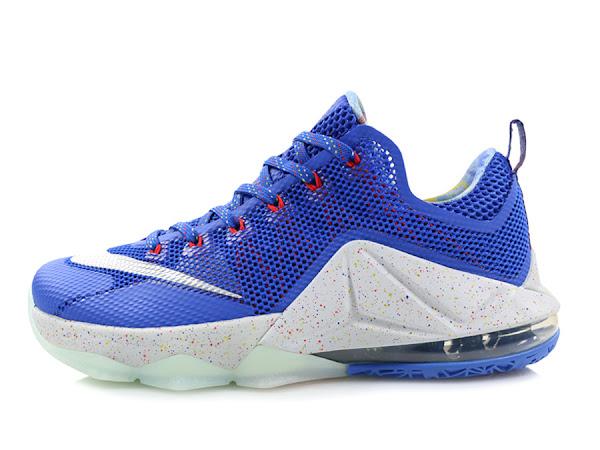 Release Reminder Nike LeBron 12 Low LTD Hyper Cobalt