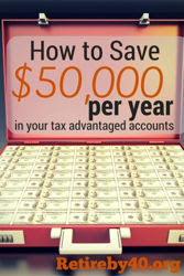 How to save $50,000 per year in your 401k Roth IRA 529