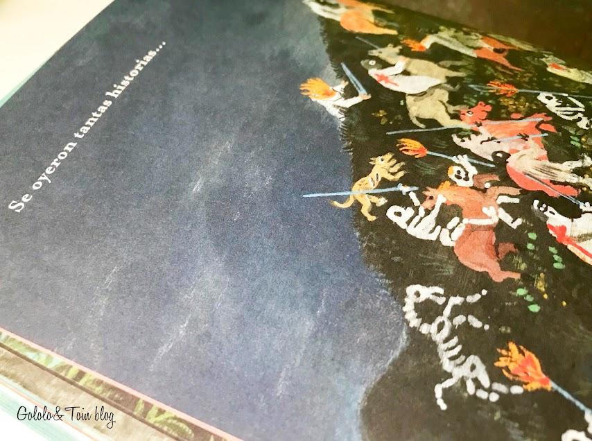 Álbum ilustrado SM sobre leyendas españolas