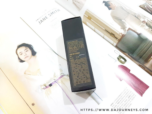 Review Lakme Absolute Argan Oil Serum Foundation