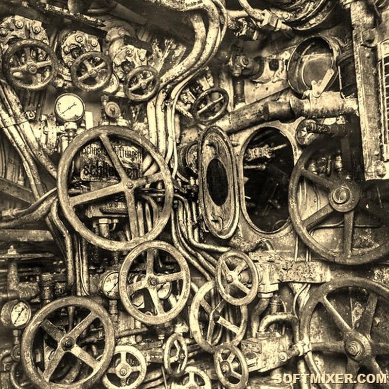 Внутри старой немецкой подводной лодки