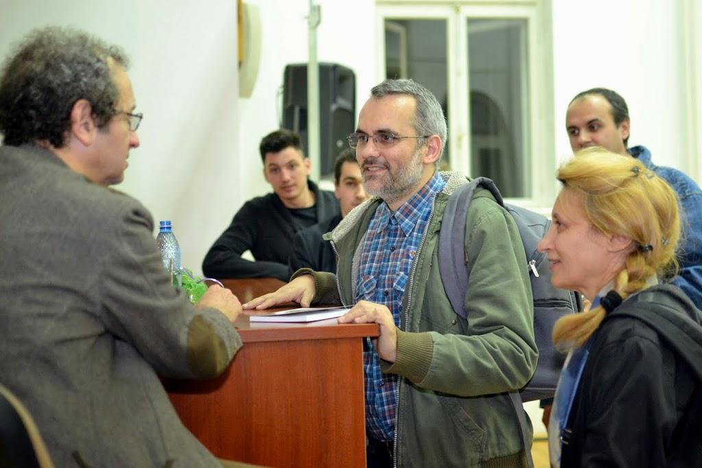 Conferinta Despre martiri cu Dan Puric, FTOUB 190