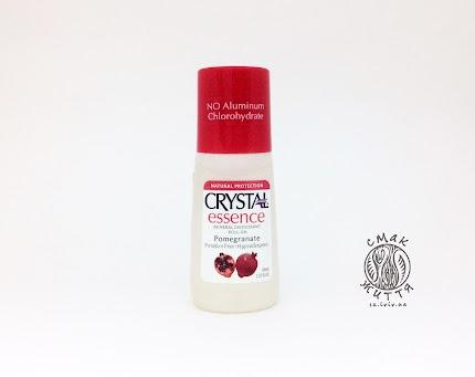 Натуральний дезодорант Crystal Essence з екстрактом граната