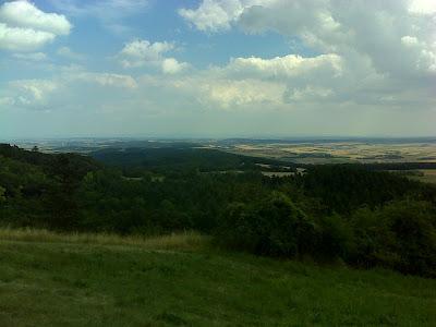 Blick nach Osten Richtung Bratislava