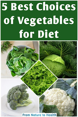 Vegetable for Diet