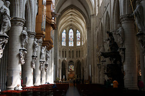 Central Nave, Saints Michel et Gudule Cathedrale
