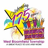 175th West Bloomfield Township Anniversary artwork.