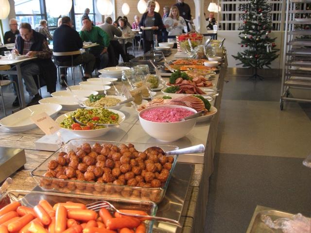 Öland ur mitt perspektiv Billigtär gott julbord på IKEA i Kalmar