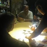 Chez un collecteur-vendeur hmong de papillons. Cacao (Guyane), 28 novembre 2011. Photo : J.-M. Gayman