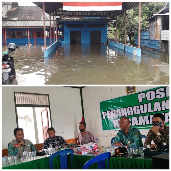 Banjir Satui, 70 KK Diungsikan