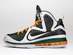 "Nike LeBron 9 - ""Miami Hurricanes"" LE"