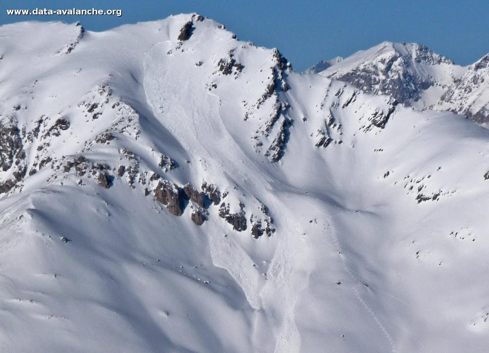 Avalanche Cerces, secteur Le Grand Aréa - Photo 1