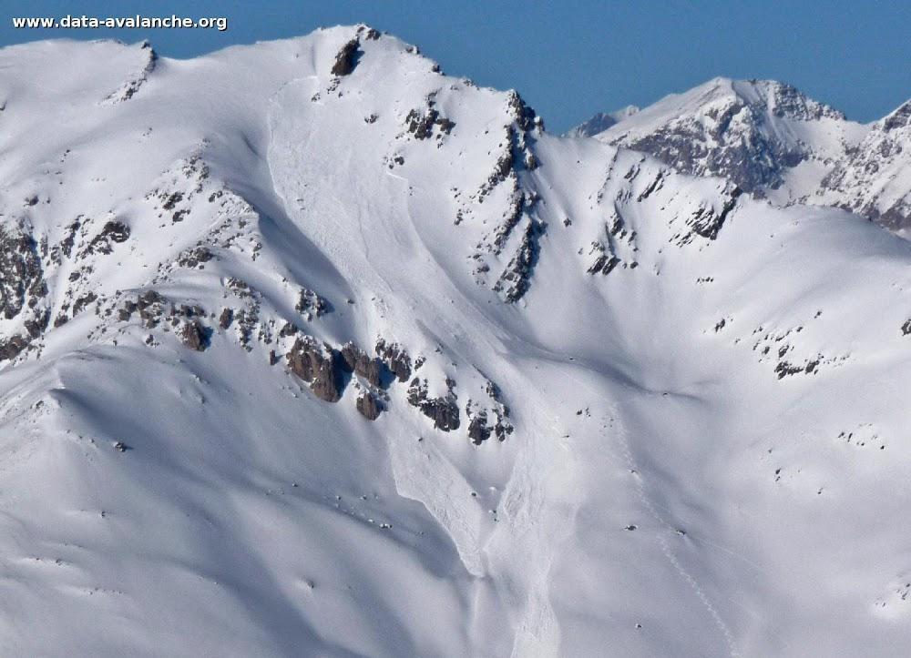 Avalanche Cerces, secteur Le Grand Aréa - Photo 1