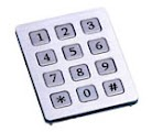 anti vandal keypad CT-KPS01-12