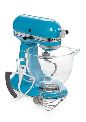 blue mixer