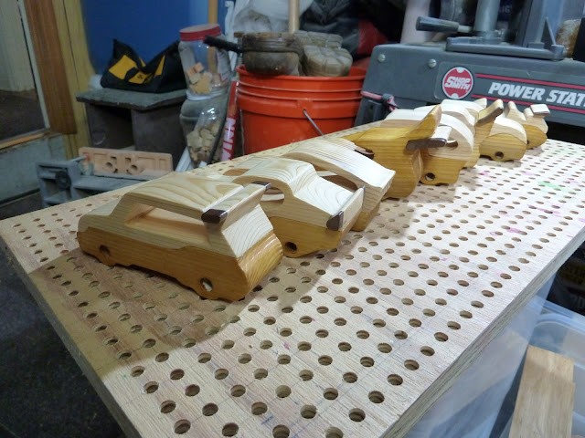 "Handmade Wood Toy Cars ""Speedy Wheels"" Ready For Wheels"