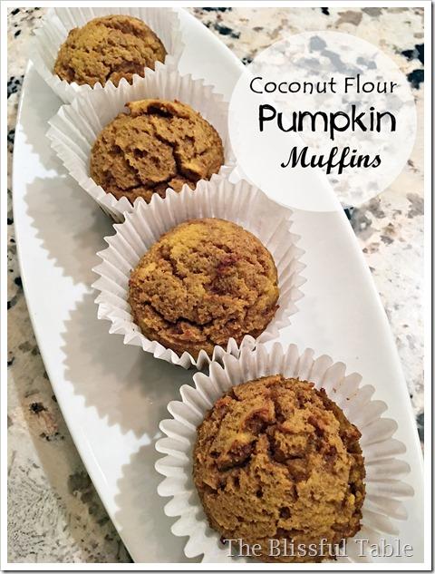 coconut flour pumpkin muffins 3a