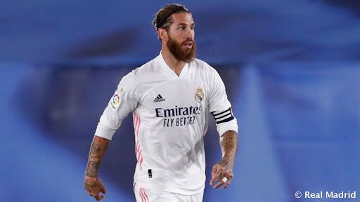 Nueva lesión  de Sergio Ramos