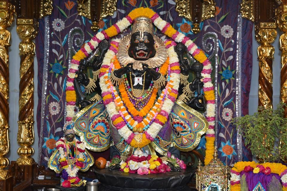 ISKCON Ujjain Deity Darshan 30 Mar 2016  (9)