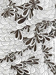 483 Zentangle Leaves