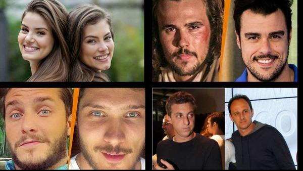 10 famosos que se parecem irmãos pela semelhança