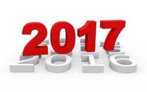 2017 календарь на белом фоне