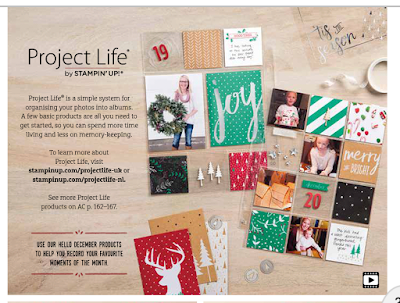 Image result for stampin up project life december daily