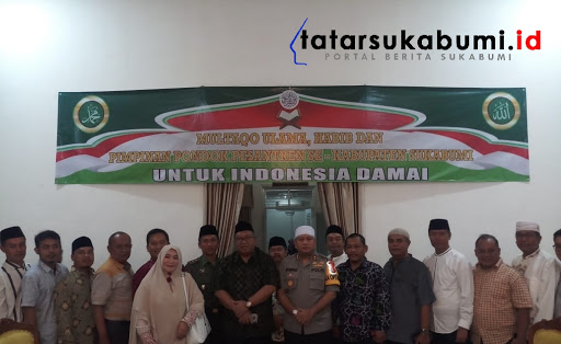 Multaqo Ulama, Habib dan Pimpinan Pondok Pesantren se-Kabupaten Sukabumi // Foto : Rapik Utama