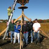 Guilford Salt Meadow Sanctuary Osprey Platform - sfs%252C10-25-09%2Bosprey%2Bplatform%2Binstall%252C110.JPG