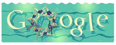 Google Doodle Synchronschwimmen