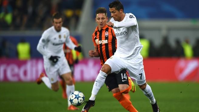 Ronaldo a Sahtar Donyeck ellen