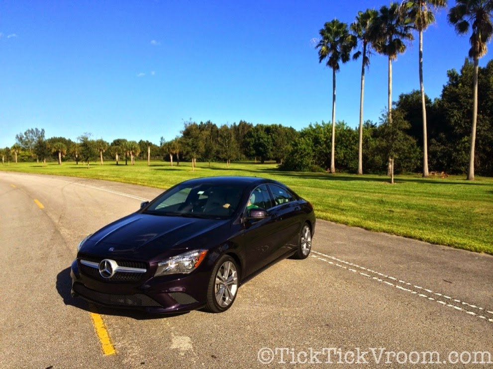 2014 Mercedes-Benz CLA250 Long-Term Test Car - Northern Lights Violet Metellic Long Term Review Road Test 4047