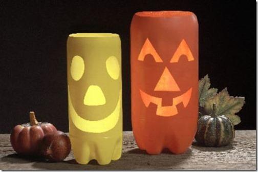 monstruos halloween manualdades niños reciclados