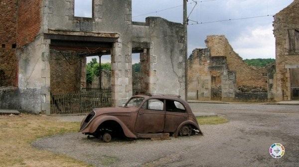 cidades fantasmas mais surpreendentes do mundo - Ouradour sur glane frança