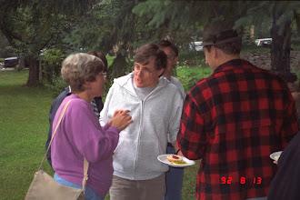 Photo: Sharon Roy, Mike Kupferschmid, and David Borton