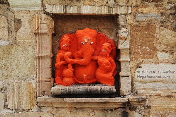 Ganeshji at Meera Mandir of Chittorgarh
