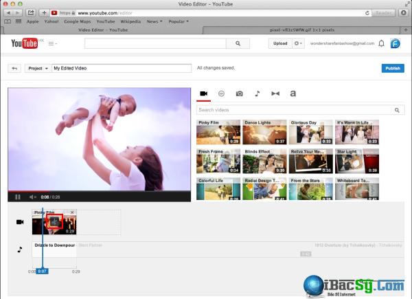 Cắt video trực tuyến trên YouTube